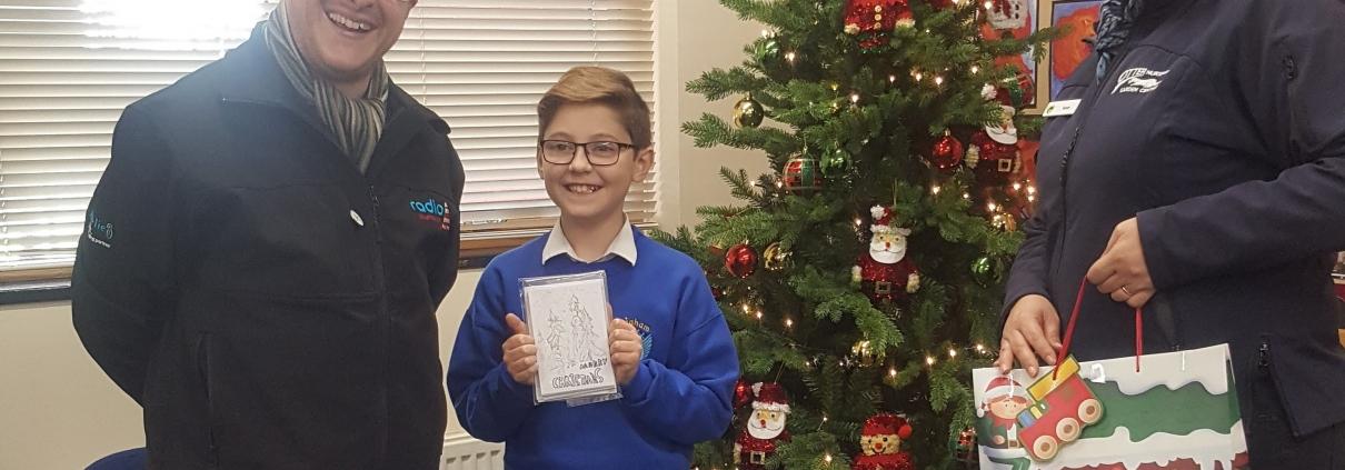 Plymouth christmas card winner